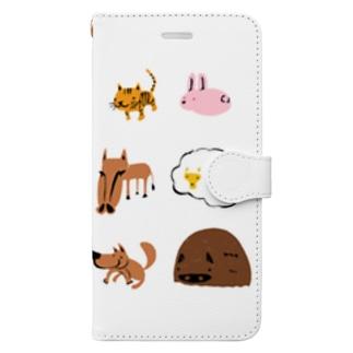 干支えっと Book-style smartphone case