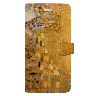 グスタフ・クリムト(Gustav Klimt) / 『アデーレ・ブロッホ=バウアーの肖像 I』(1907年) Book-Style Smartphone Case