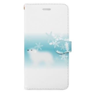 グレート・ピレニーズ Book-style smartphone case