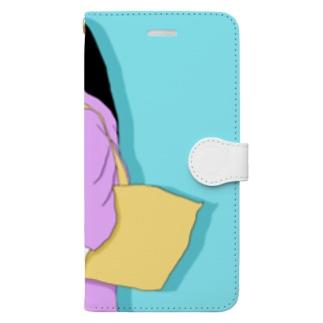 ビションフリーゼ3 Book-style smartphone case