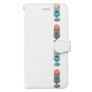 恋慕のゼリーポンチ Book-style smartphone case