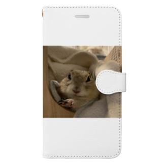 ちょっぴり不機嫌きなこ様 Book-style smartphone case