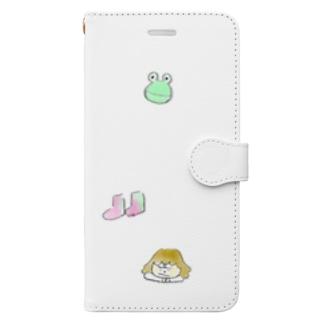 雨の日 Book-style smartphone case