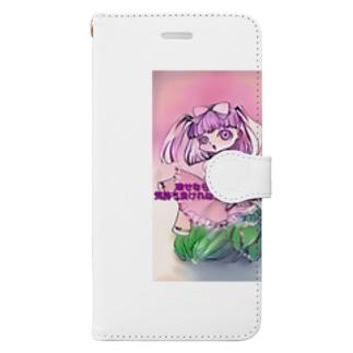 キャベツとロリータ Book-style smartphone case