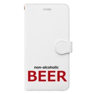 ノンアルコールビール ビール Book-style smartphone case