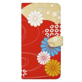 和柄スマホケース Book-style smartphone case