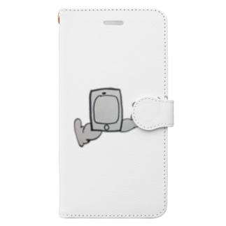 歩きスマホ Book-style smartphone case