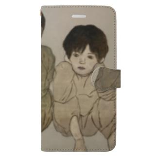 みざるいわざるきかざる Book-style smartphone case