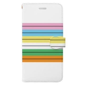 WTB目視点検用メモリと重り  Book-style smartphone case