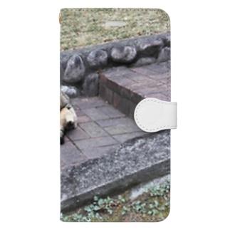 二つ折り猫 Book-style smartphone case
