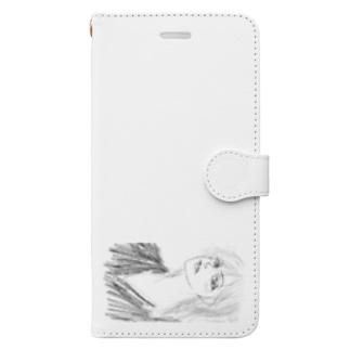 泣きほくろ艶ほくろ Book-style smartphone case