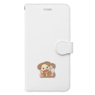 マントヒヒ倶楽部・マヒンジャングル Book-style smartphone case