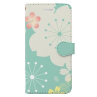 桜1 Book-Style Smartphone Case