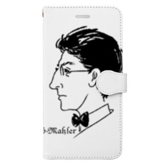 GraphicersのG.Mahler Book-style smartphone case