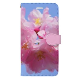 桜31 Book-style smartphone case