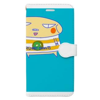 ラグビードーナツ🍩 Book-style smartphone case