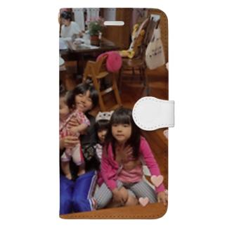 孫たち Book-style smartphone case