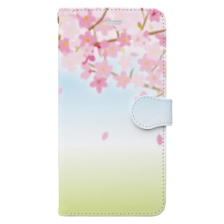 桜33 Book-Style Smartphone Case