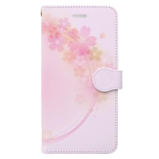 桜34 Book-Style Smartphone Case