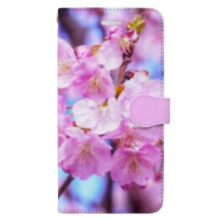 桜35 Book-Style Smartphone Case