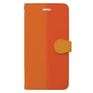 夕焼け Book-style smartphone case