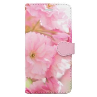 桜36 Book-style smartphone case