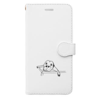 勘弁してくださ〜い Book-style smartphone case