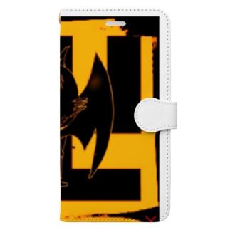 ドラッキュラーβ Book-style smartphone case