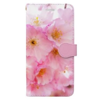 桜41 Book-Style Smartphone Case