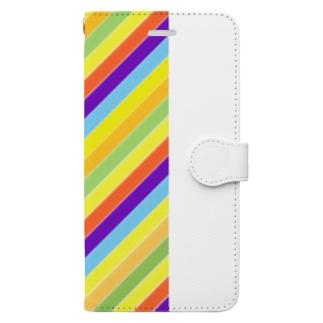パステル Book-style smartphone case