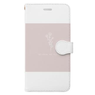 NO RAIN, NO FLOWERS. Book-style smartphone case