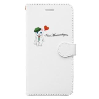 フレンチみなみん Book-style smartphone case