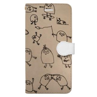 ニュー気になるやつ Book-style smartphone case