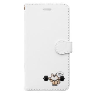 柴健太郎【スクワット編カラーver】 Book-style smartphone case