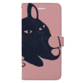 かげいぬ Book-style smartphone case