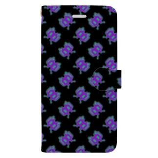 Cheap Alien 黒 Book-style smartphone case