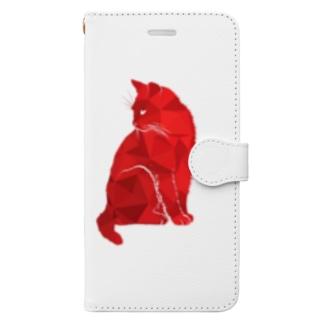 レッドキャット Book-style smartphone case