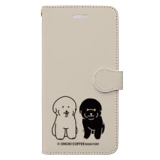 松福手帳型スマホケース Book-style smartphone case