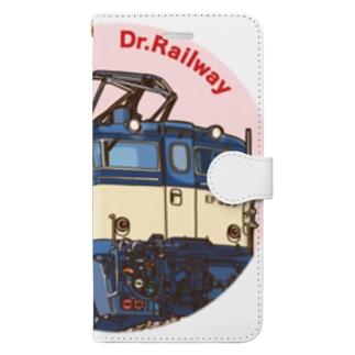 鉄道博士 EF63 Book-style smartphone case