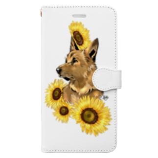 夏の午後 Book-style smartphone case