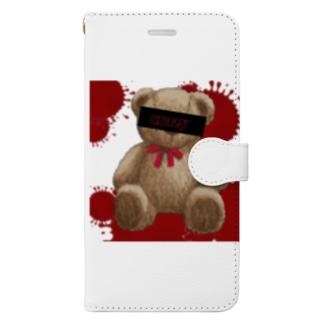 クレイジーベアー Book-style smartphone case