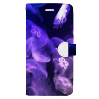 綺麗なクラゲ Book-Style Smartphone Case