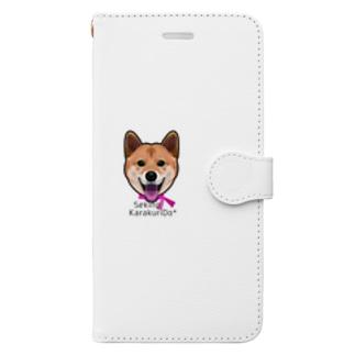 柴犬(D152) Book-style smartphone case