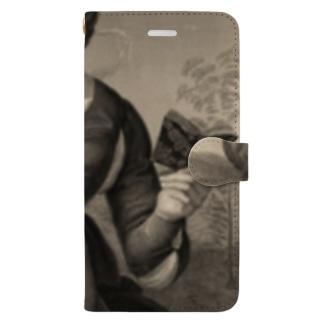 母子像 Book-style smartphone case