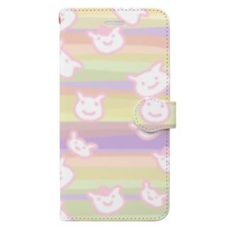 うかぶひつじ Book-style smartphone case