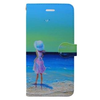 Sea Breeze Book style smartphone case