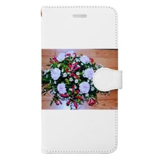 ソフィフラワー Book-style smartphone case