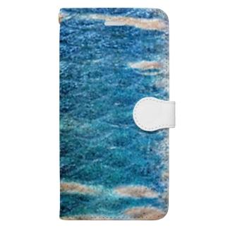 オイカワ模様 Book-style smartphone case