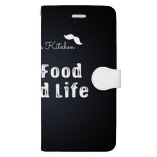 Good Food, Good Life! Book-style smartphone case