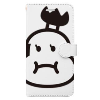おもち丸 Book-style smartphone case